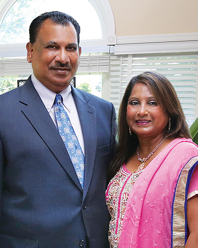 Drs. Prem and Grace Marlapudi